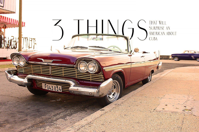 Havana Antique Car
