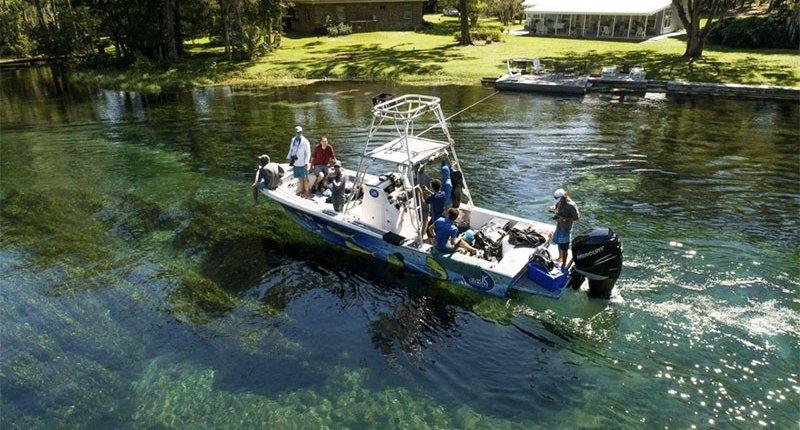 Florida photo boat